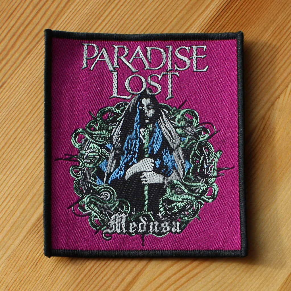 Paradise Lost - Medusa (Woven Patch)