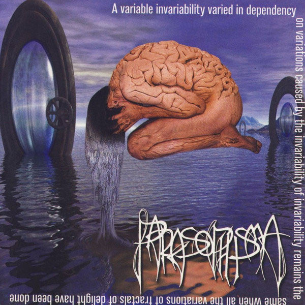 Parasophisma - A Variable Invariability Varied in Dependency... (CD)