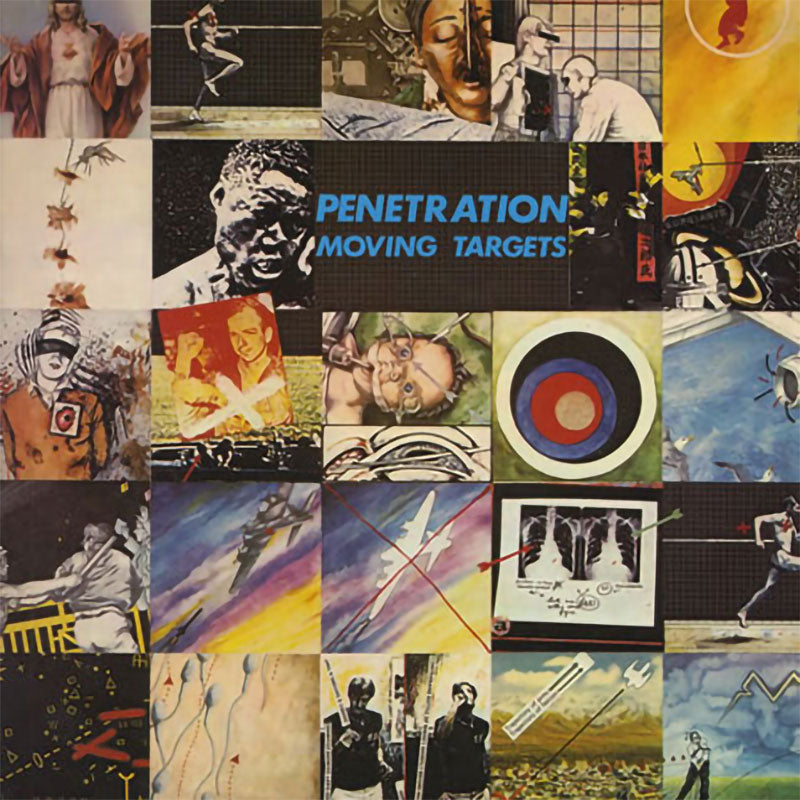 Penetration - Moving Targets (1990 Reissue) (CD)