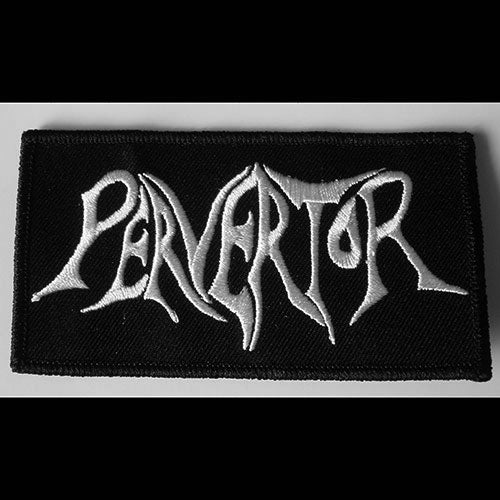 Pervertor - Logo (Embroidered Patch)