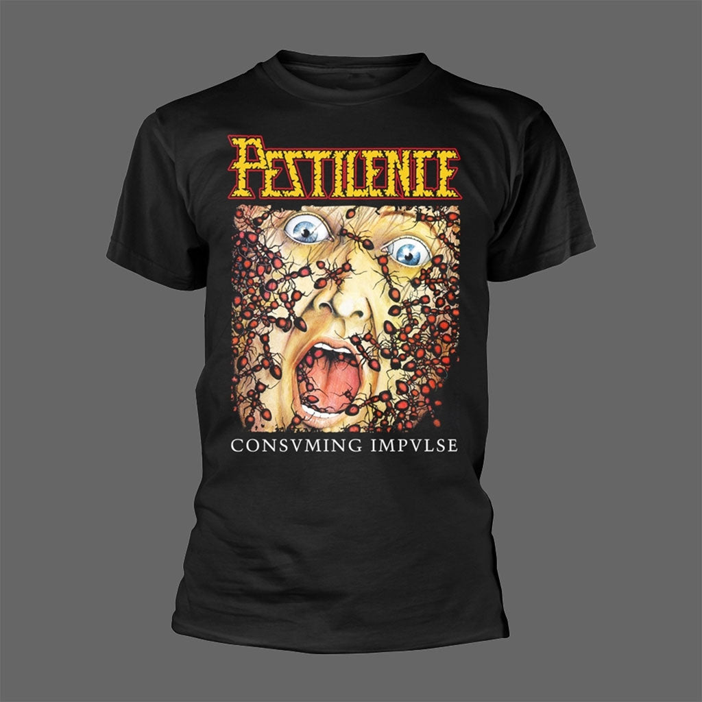 Pestilence - Consuming Impulse / They Crawl (T-Shirt)