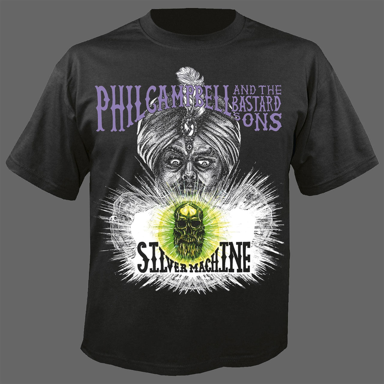 Phil Campbell and the Bastard Sons - Silver Machine (T-Shirt)