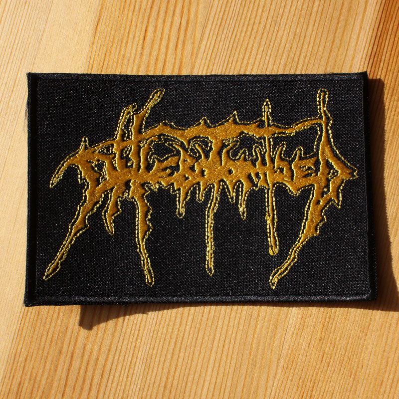 Phlebotomized - Yellow Logo (Embroidered Patch)