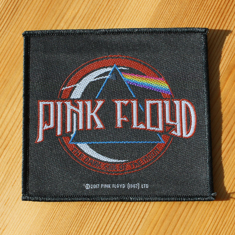 Pink Floyd - Logo / The Dark Side of the Moon (Woven Patch)