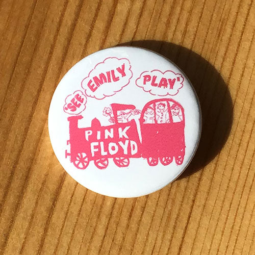 Pink Floyd - See Emily Play (Pink) (Badge)
