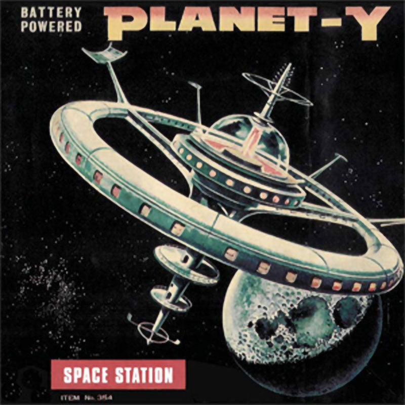 Planet Y - Space Station (CD)