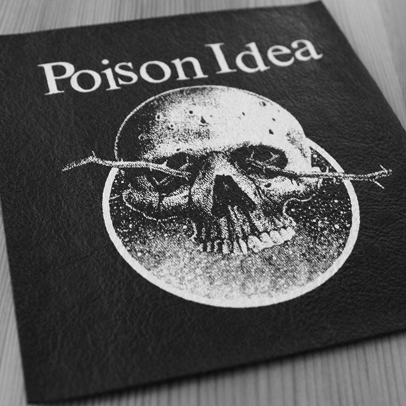 Poison Idea - Official Bootleg (Leather) (Printed Patch)