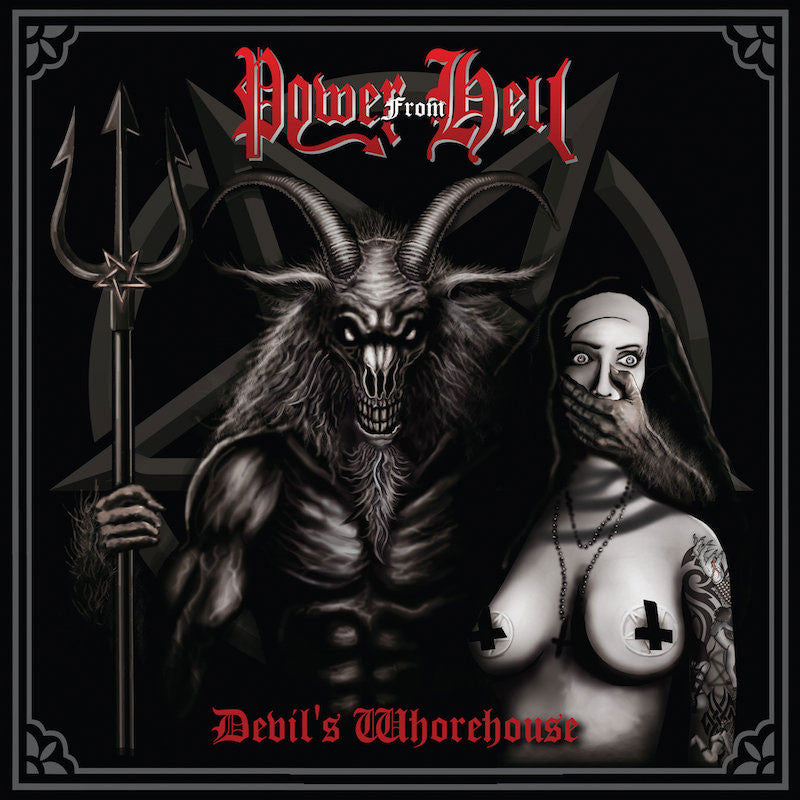 Power From Hell - Devil's Whorehouse (CD)