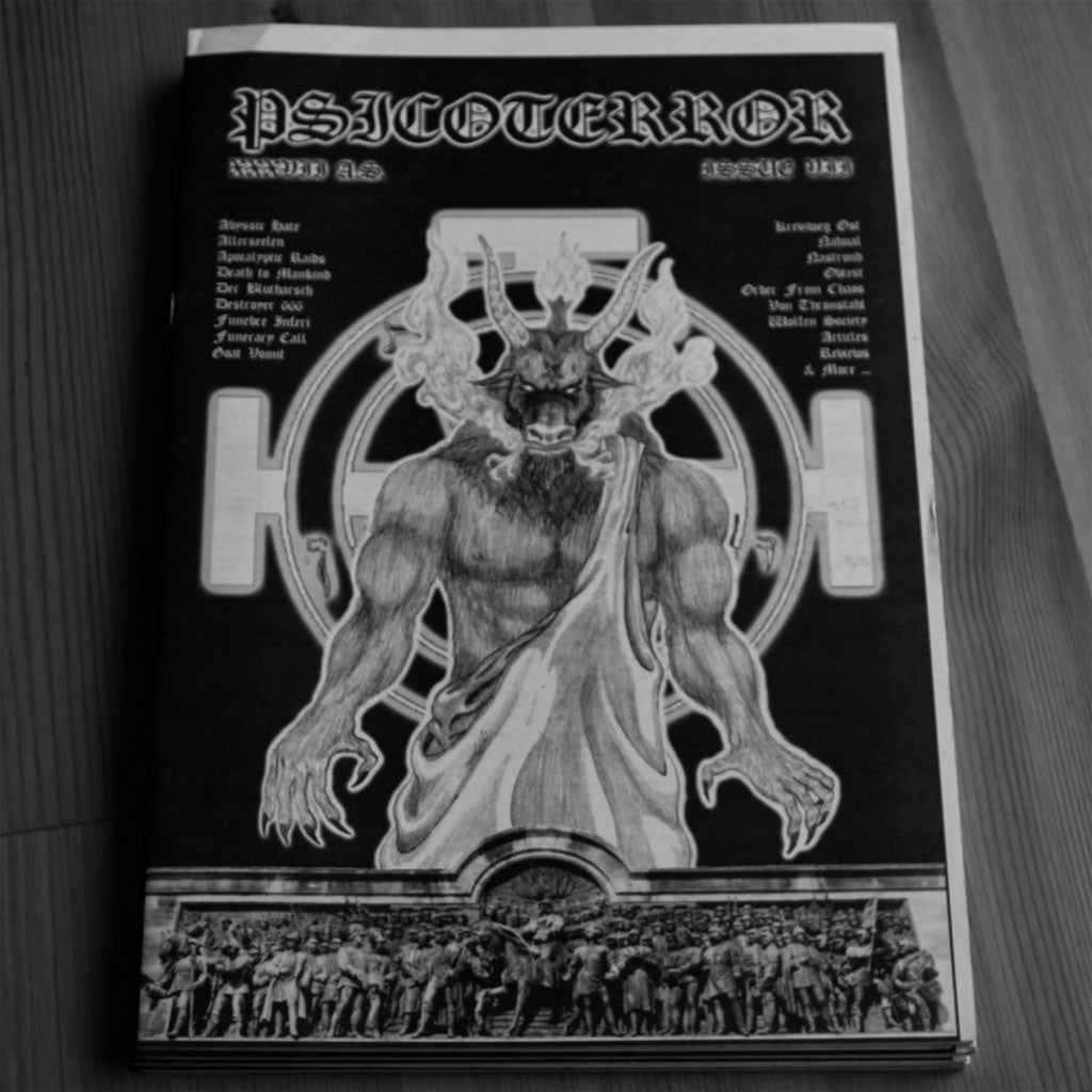 Psicoterror - Issue 7 (Zine)