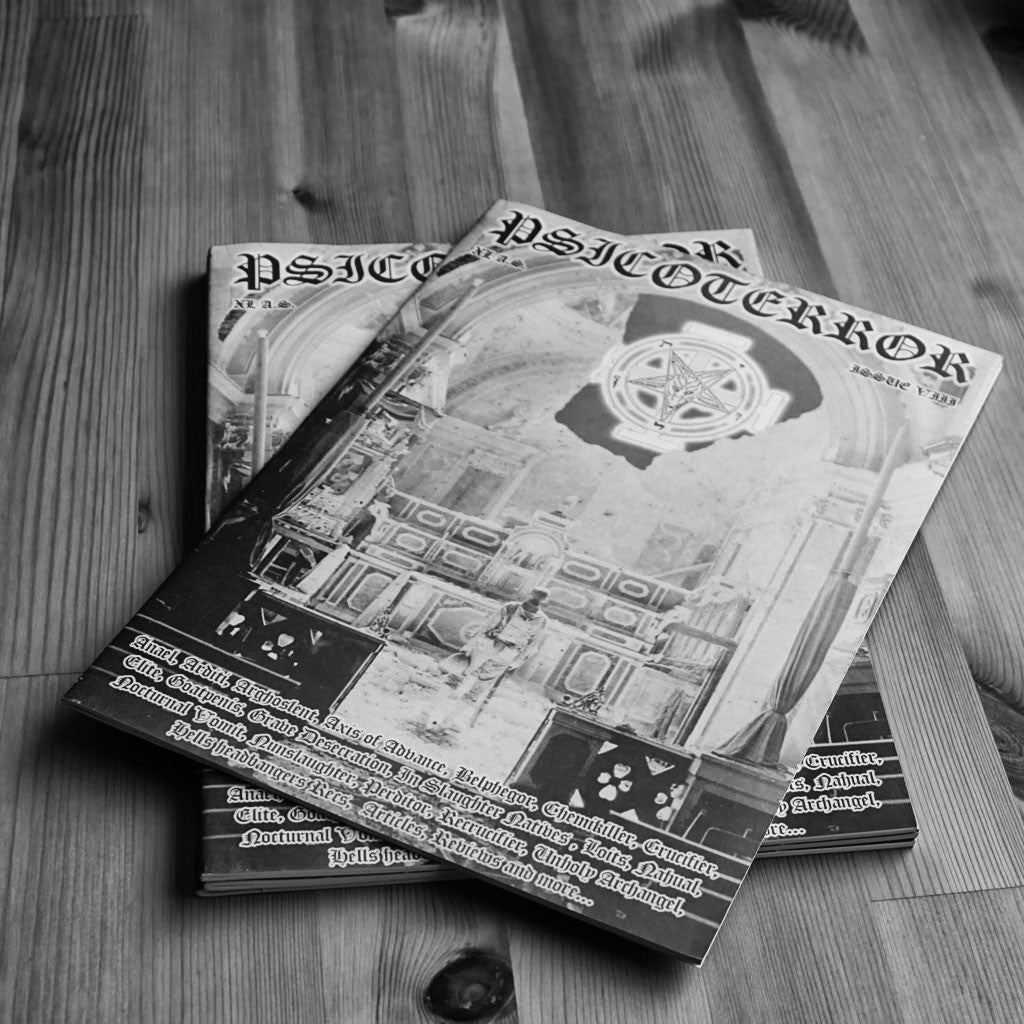 Psicoterror - Issue 8 (Zine)