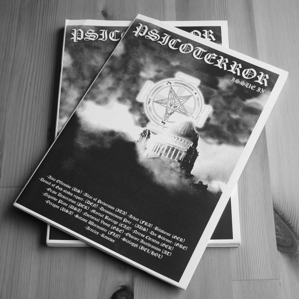 Psicoterror - Issue 9 (Zine)