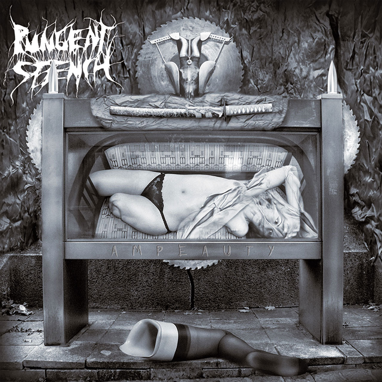 Pungent Stench - Ampeauty (2018 Reissue) (Clear Edition) (LP)