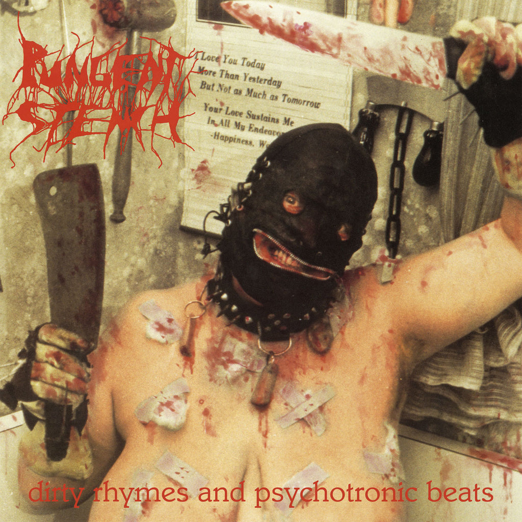 Pungent Stench - Dirty Rhymes and Psychotronic Beats (2018 Reissue) (White Edition) (LP)