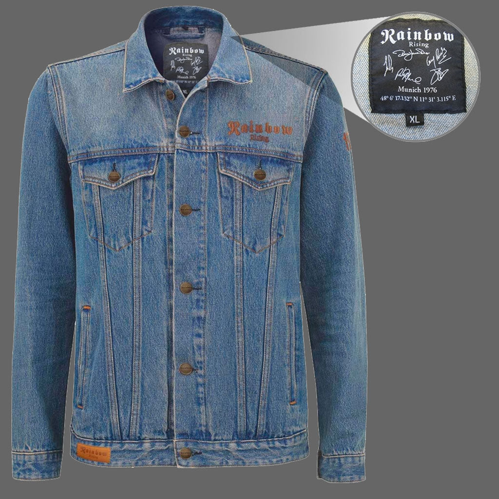 Rainbow - Rising (Denim Jacket)