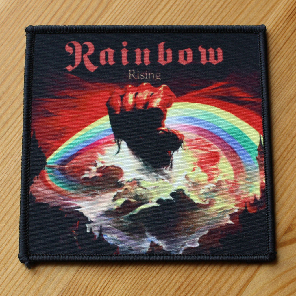 Rainbow - Rising (Woven Patch)