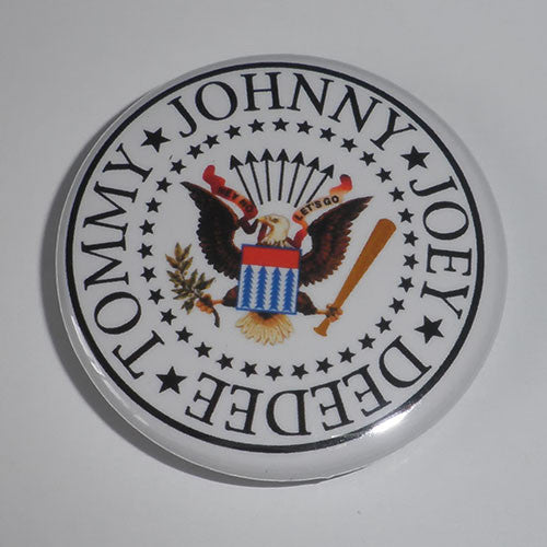 Ramones - Logo Seal (Badge)