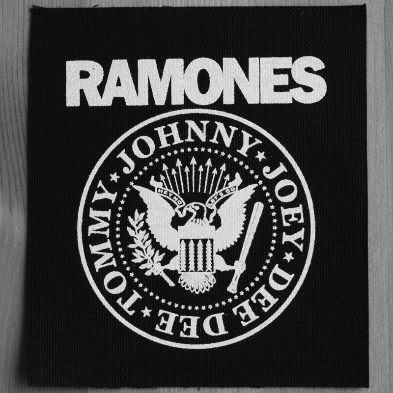 Ramones - Logo & Seal (Printed Patch)