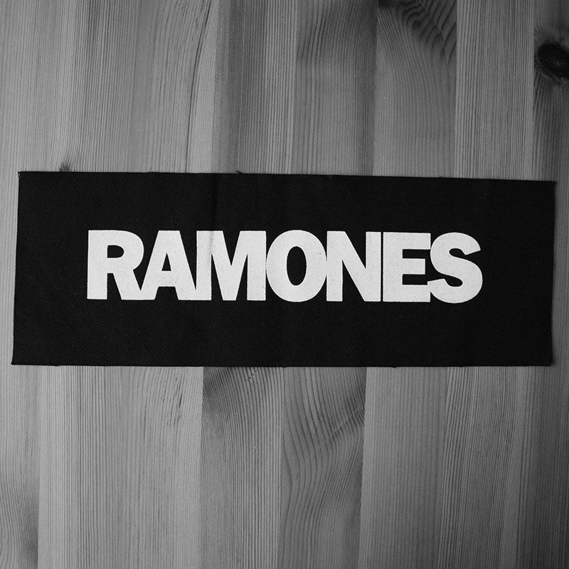 Ramones - Logo (Superstrip) (Backpatch)