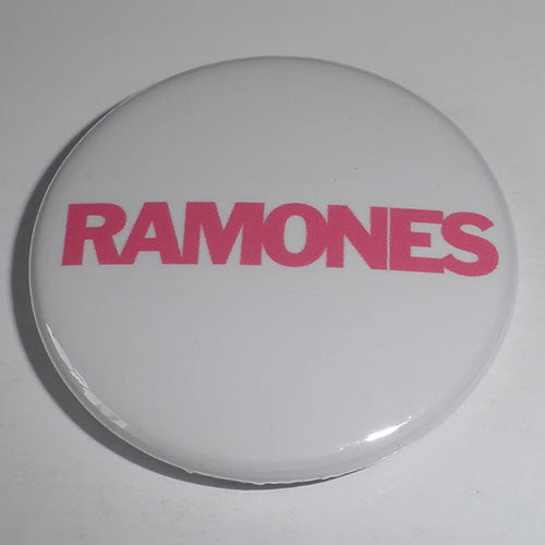 Ramones - Pink Logo (Badge)