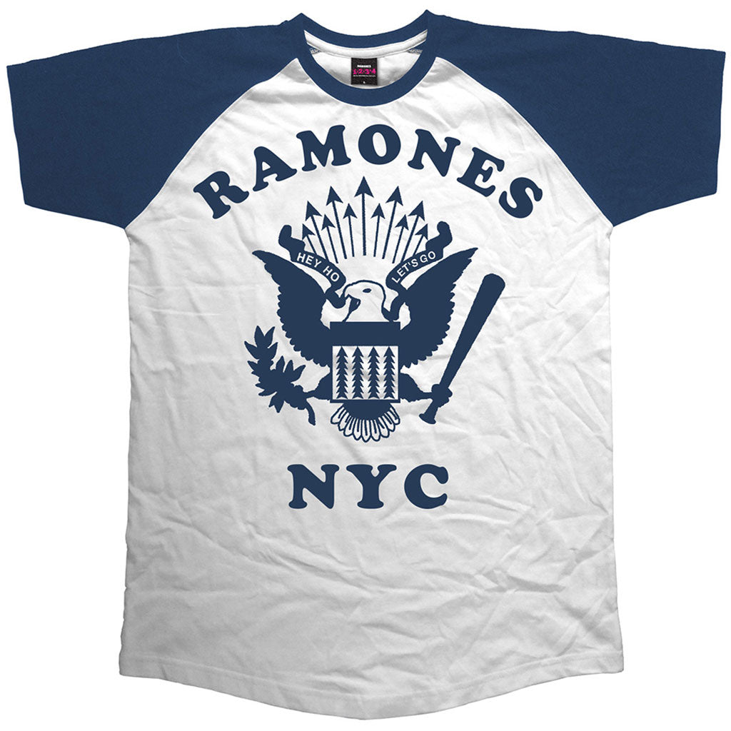 Ramones - Retro Eagle (Raglan) (T-Shirt)
