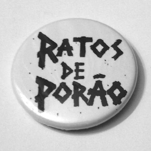 Ratos de Porao - Black Logo (Badge)