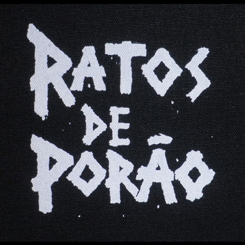 Ratos de Porao - White Logo (Printed Patch)