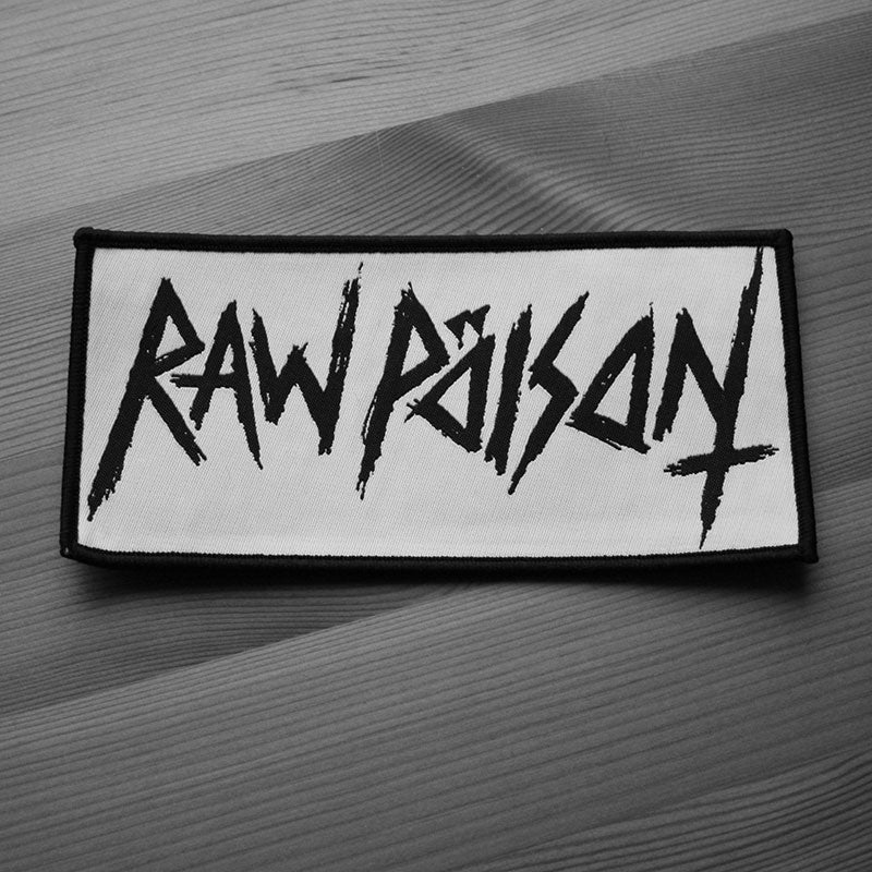 Raw Poison - Logo (Woven Patch)