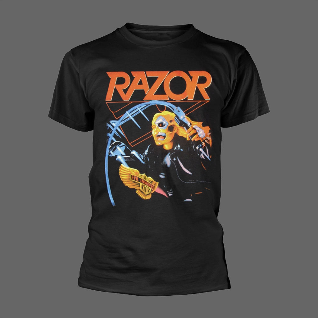 Razor - Evil Invaders (T-Shirt)