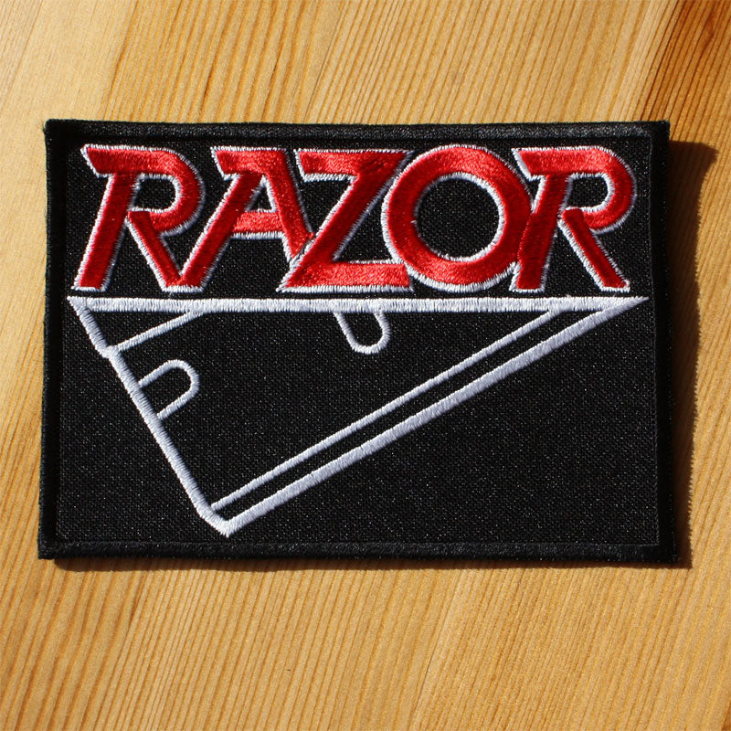 Razor - Logo (Embroidered Patch)