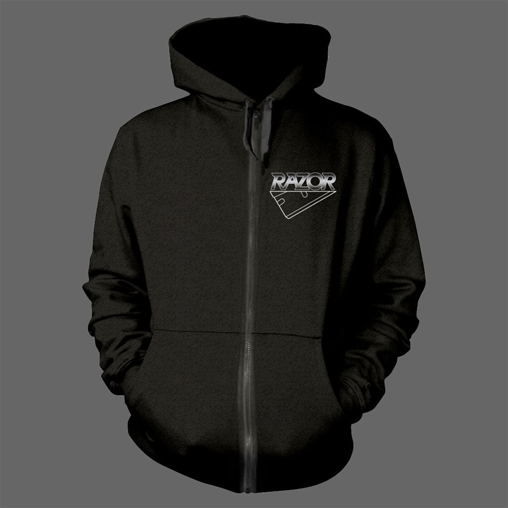 Razor - Violent Restitution (Full Zip Hoodie)