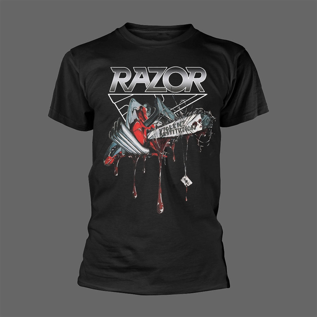 Razor - Violent Restitution (T-Shirt)