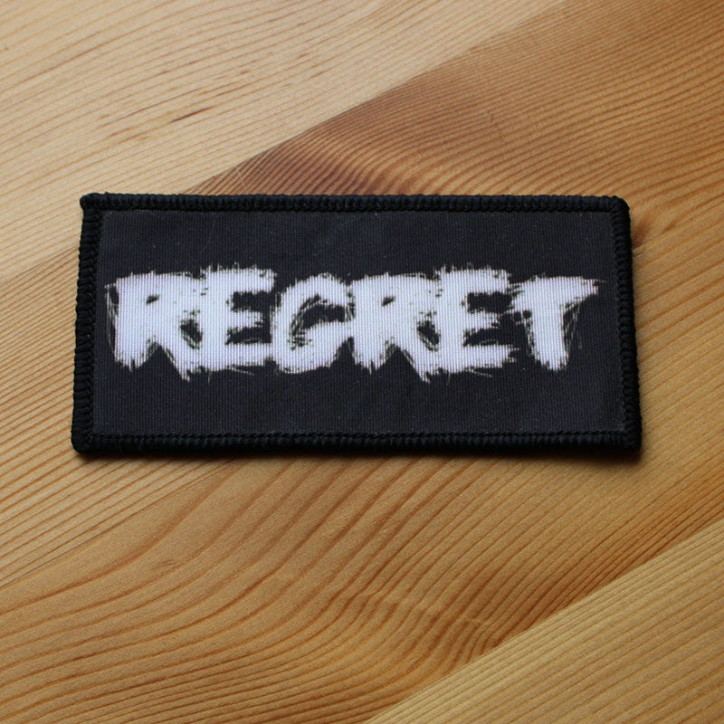 Regret - Logo (Woven Patch)