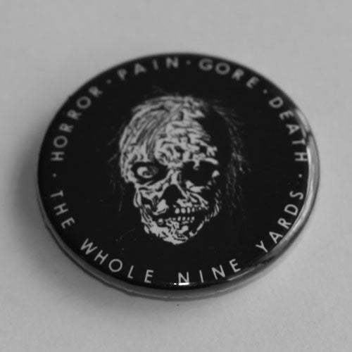 Repulsion - Horror Pain Gore Death (Black and White) (Badge)