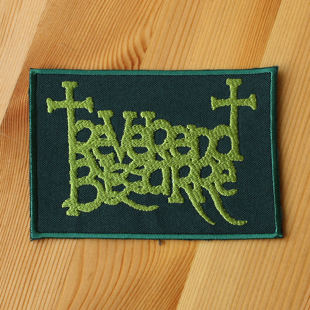 Reverend Bizarre - Green Logo (Embroidered Patch)