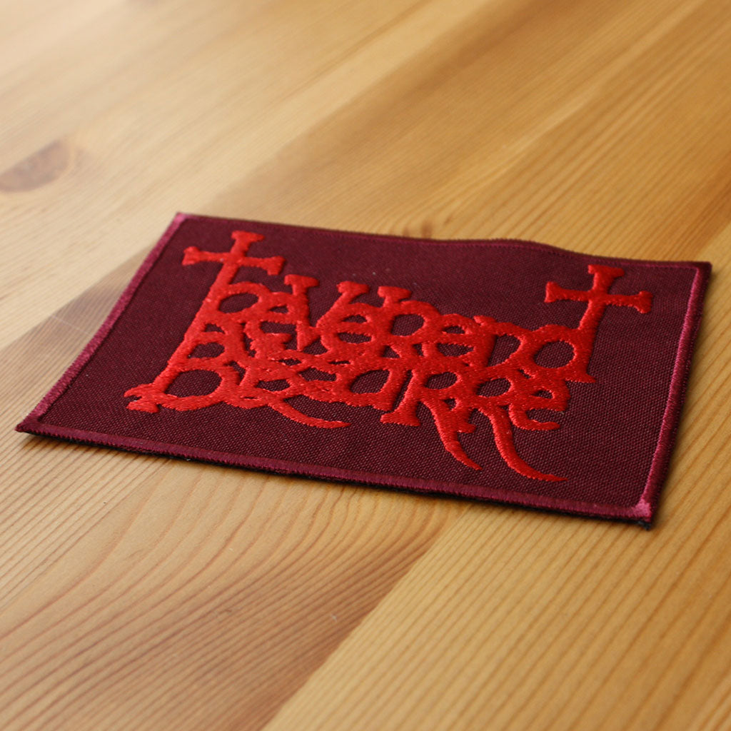 Reverend Bizarre - Red Logo (Embroidered Patch)