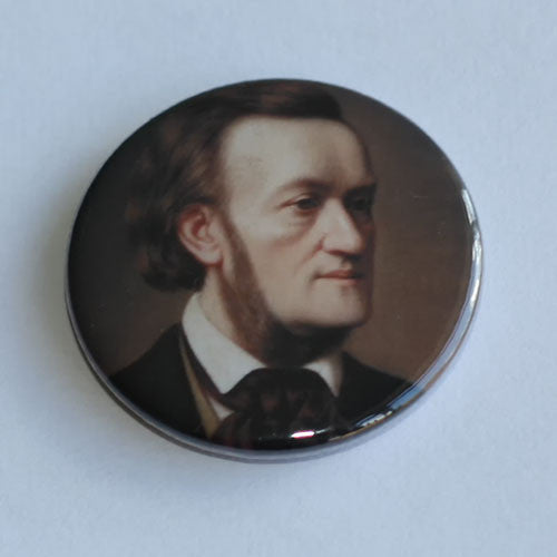 Richard Wagner - 1862 Portrait (Badge)