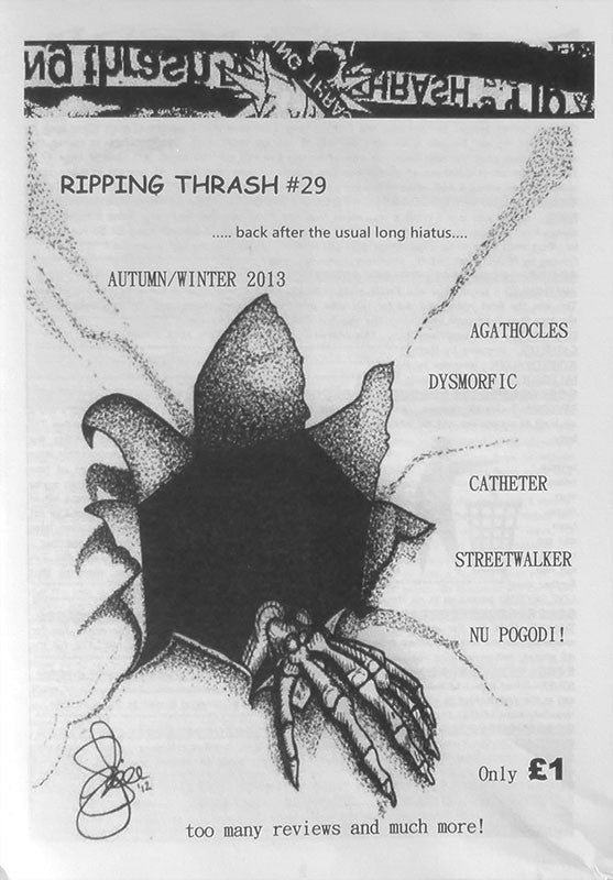 Ripping Thrash - Issue 29 (Zine)