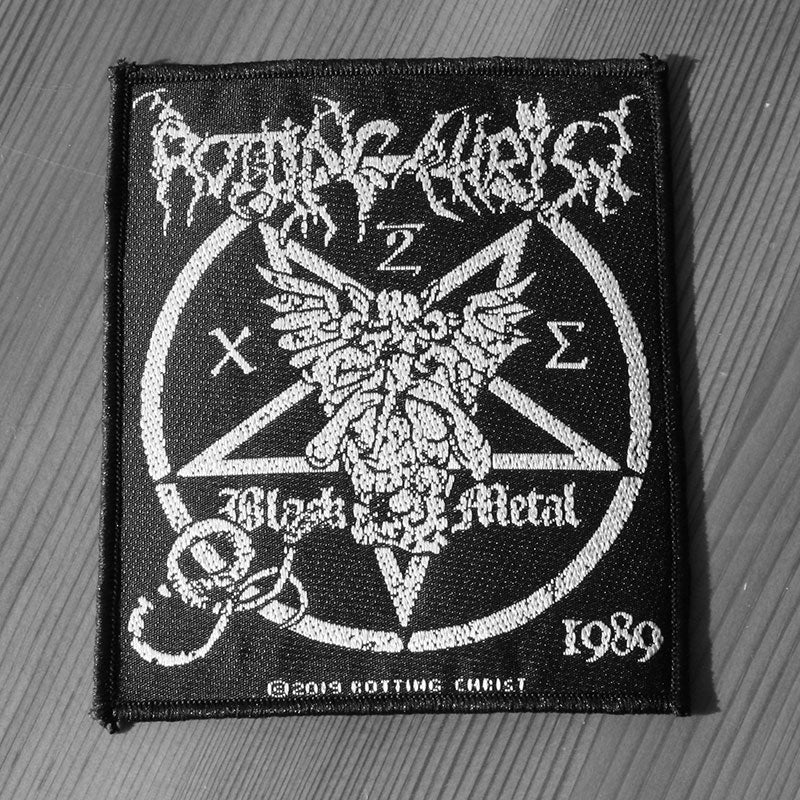 Rotting Christ - Black Metal 1989 (Woven Patch)