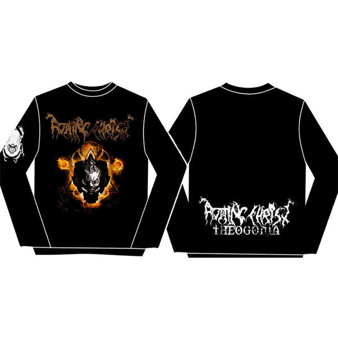 Rotting Christ - Gargoyle / Theogonia (Long Sleeve T-Shirt)