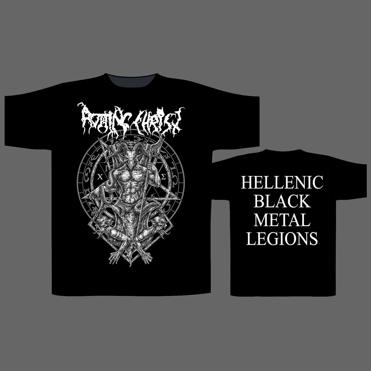 Rotting Christ - Hellenic Black Metal Legions (T-Shirt)