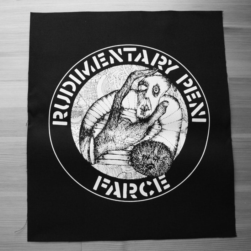 Rudimentary Peni - Farce (Backpatch)