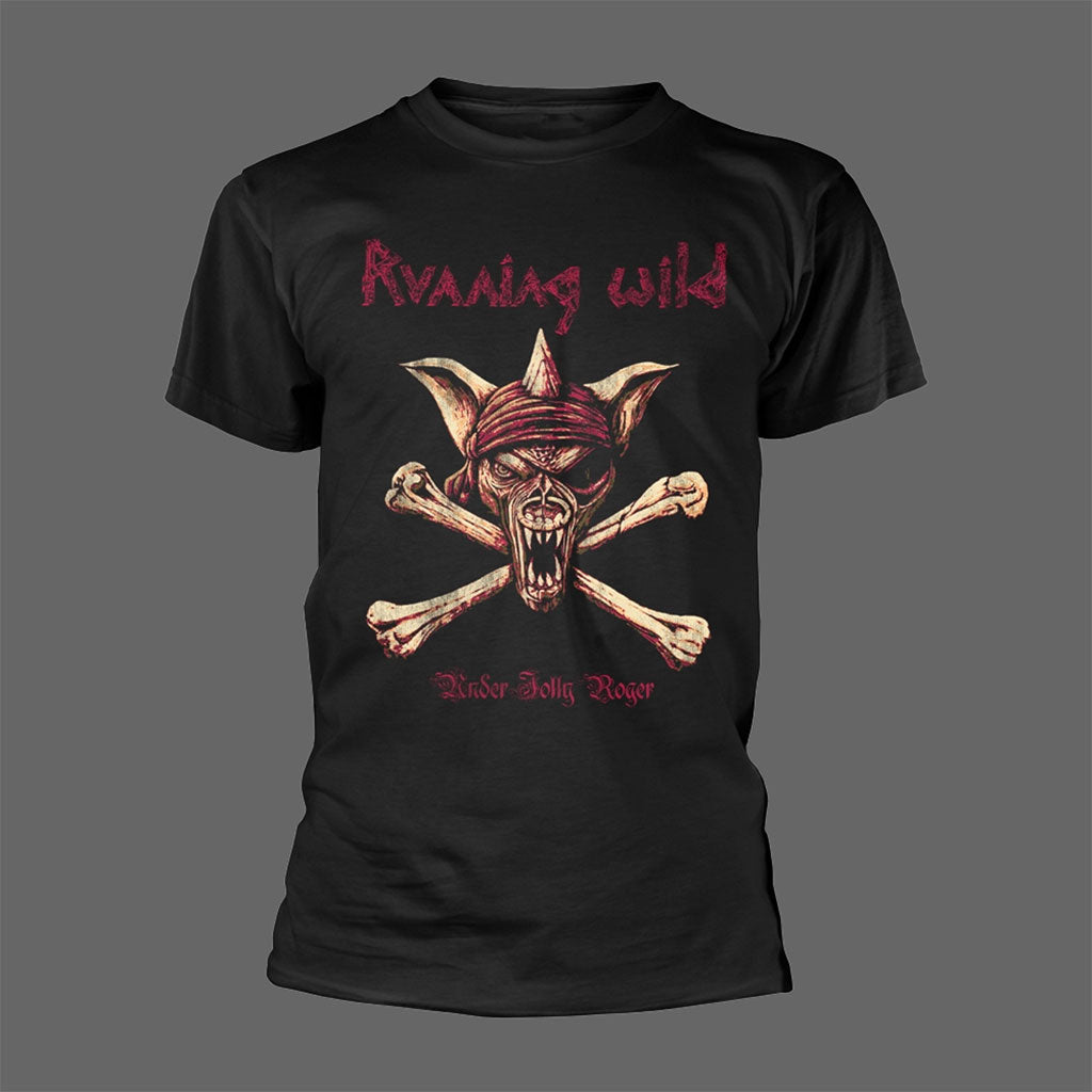 Running Wild - Captain Adrian / Under Jolly Roger (T-Shirt)