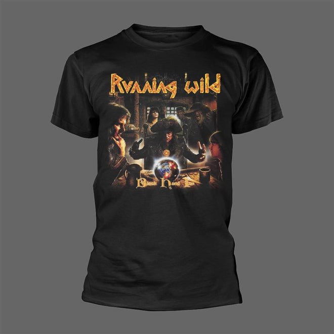Running Wild - Black Hand Inn (T-Shirt)