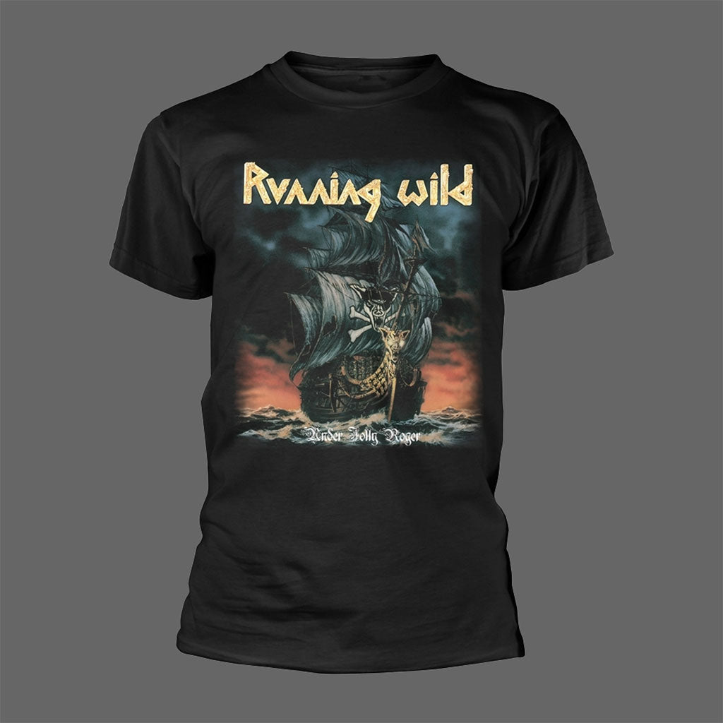 Running Wild - Under Jolly Roger (T-Shirt)