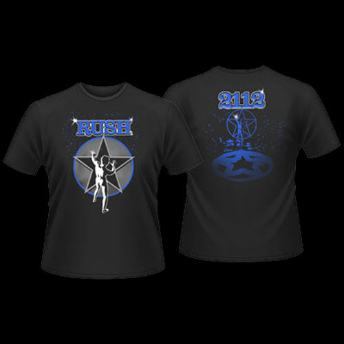 Rush - 2112 / Blue Starman (T-Shirt)