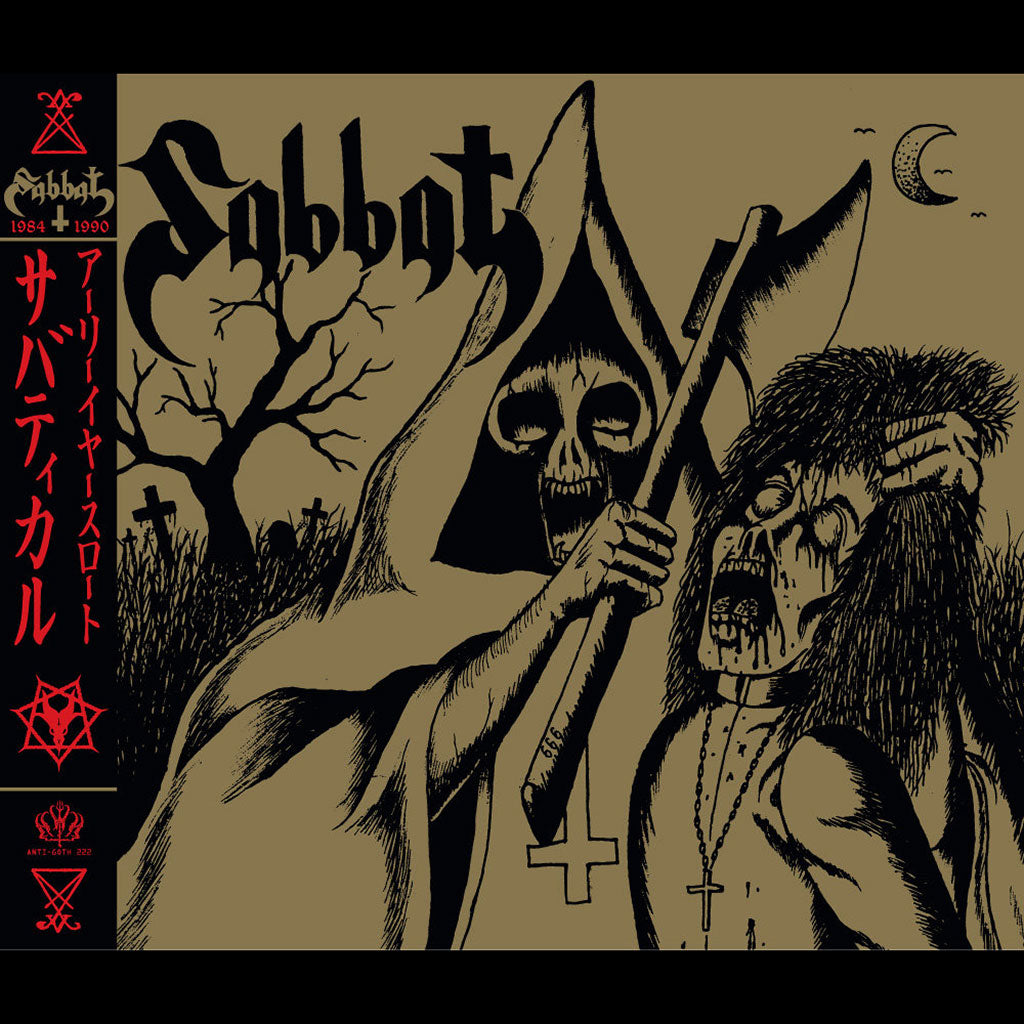 Sabbat - Sabbatical Earlyearslaught (4CD)