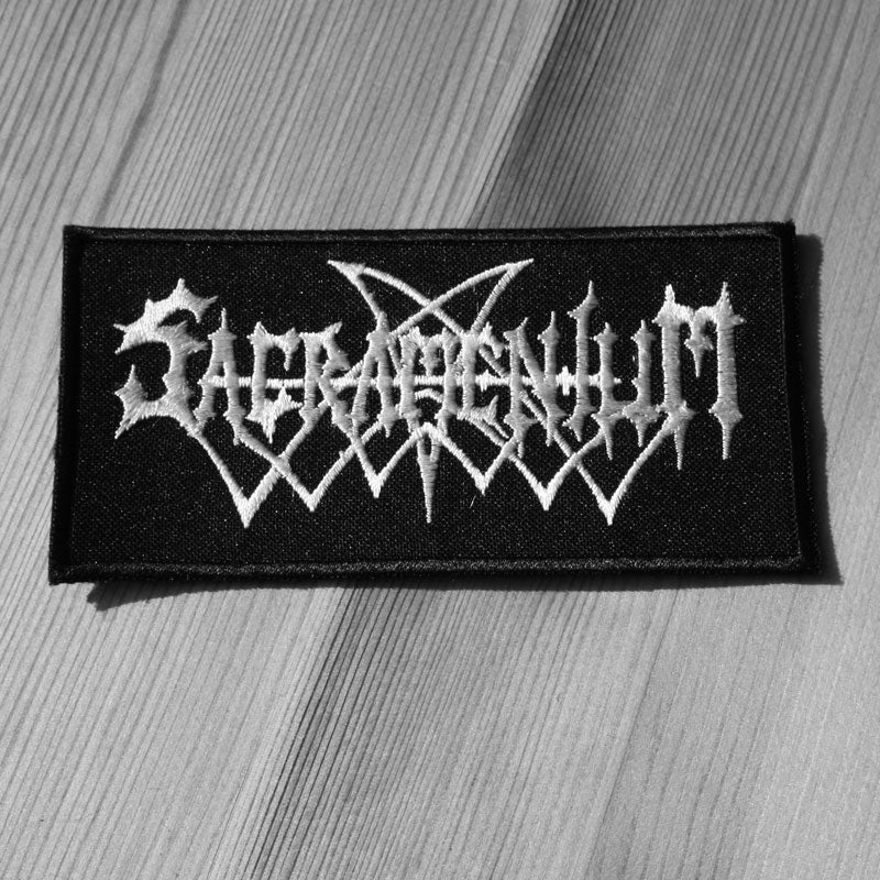 Sacramentum - Logo (Embroidered Patch)