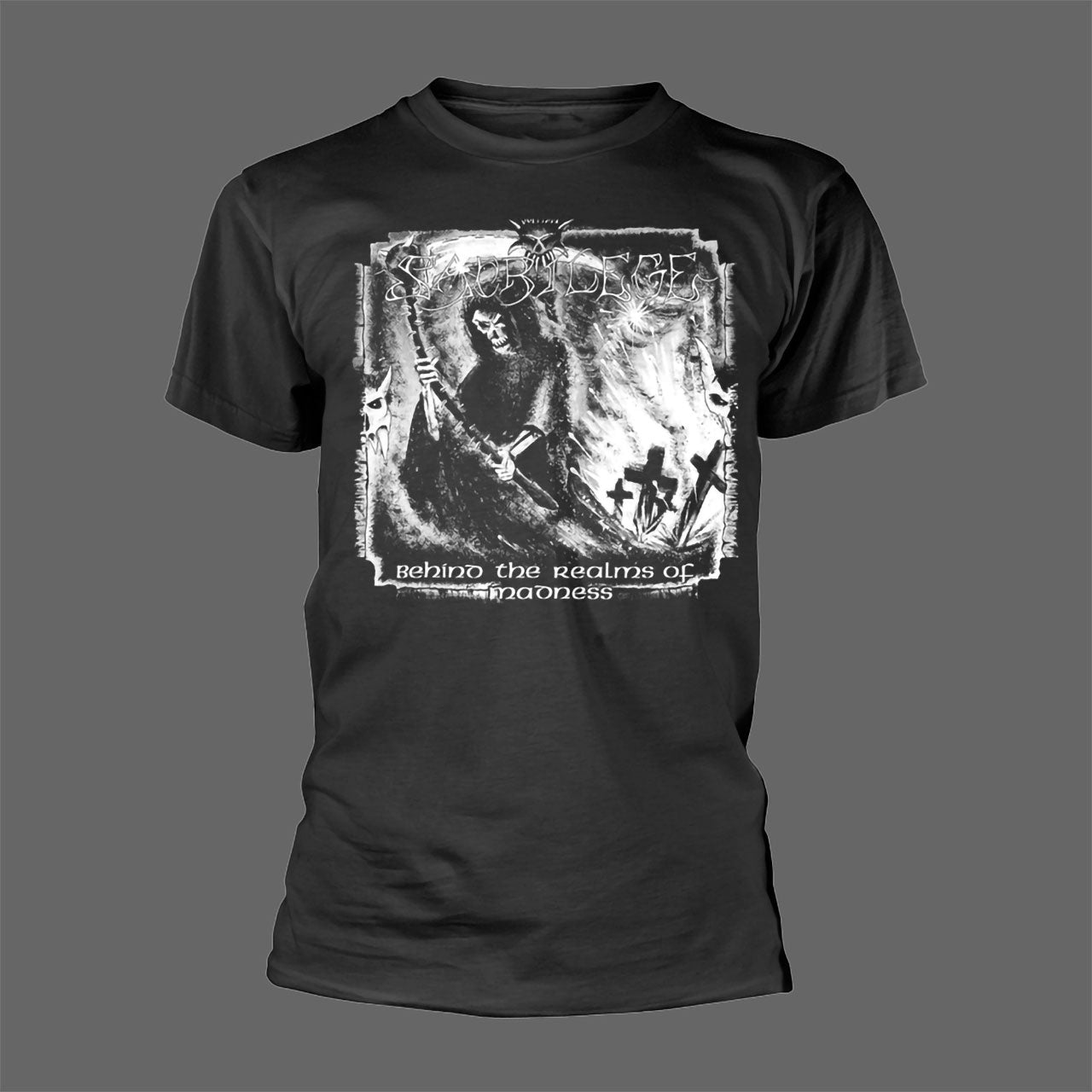 Sacrilege - Behind the Realms of Madness (T-Shirt - Released: 26 February 2021)