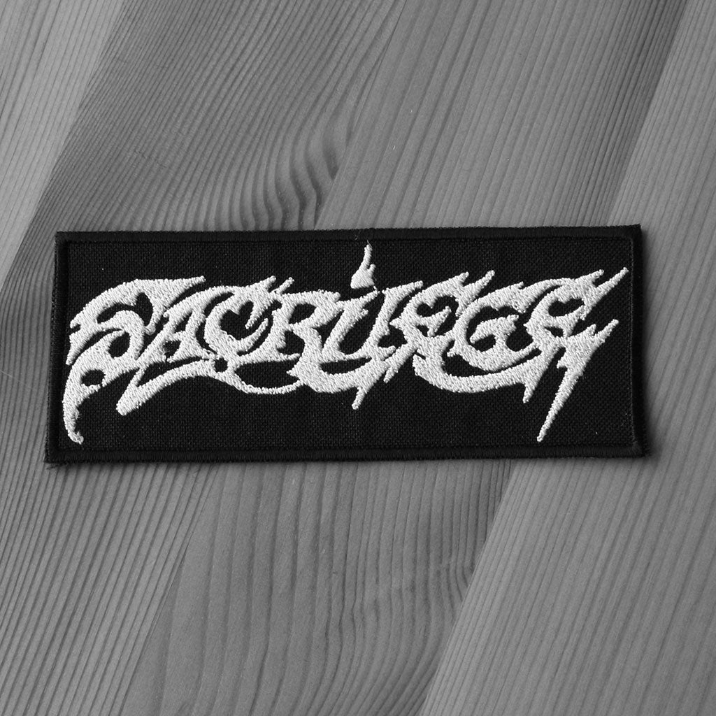 Sacrilege - Logo (Embroidered Patch)