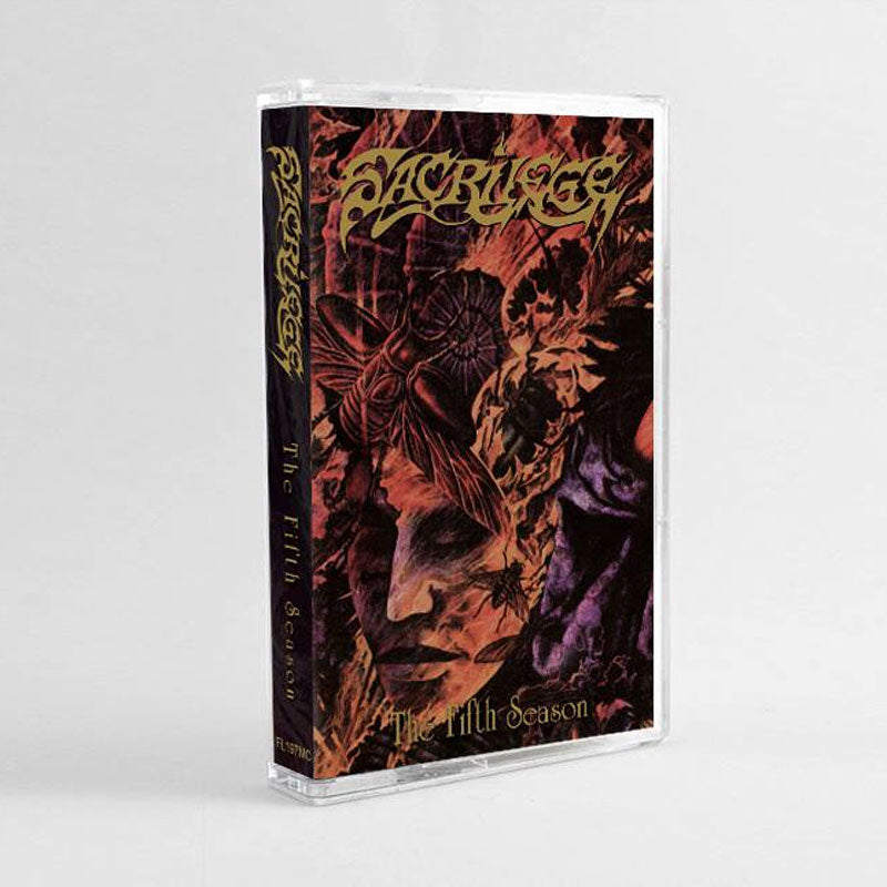 Sacrilege - The Fifth Season (2018 Reissue) (Cassette)